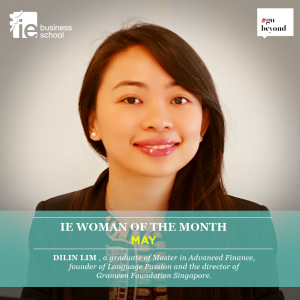 Entrepreneur and MIAF alumni, Dilin Lim, May's Women of The Month, shares her story